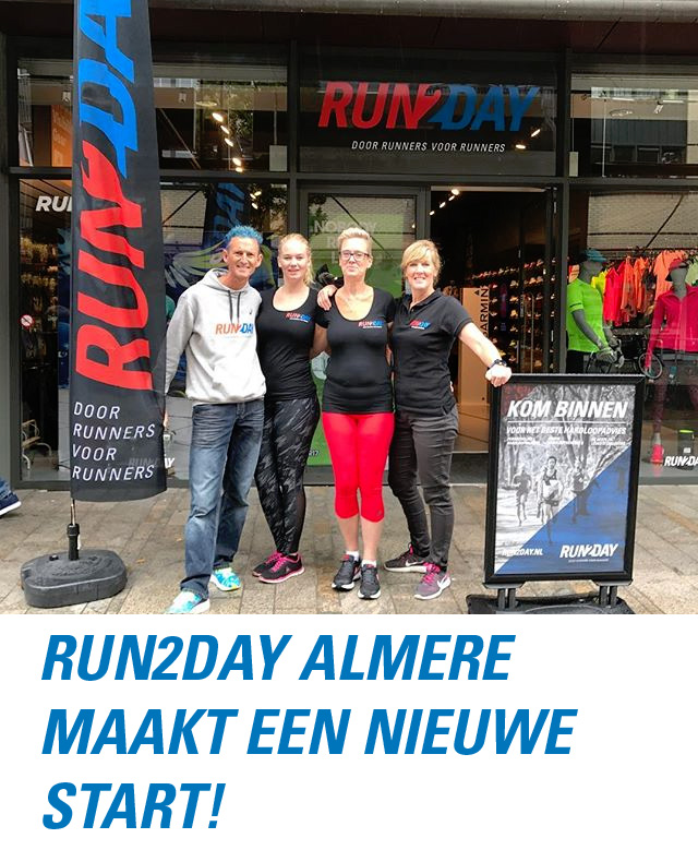 heropening Run2Day Almere