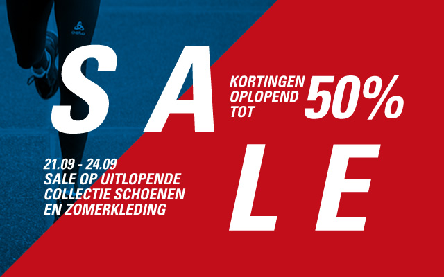 Sale bij Run2Day Almere